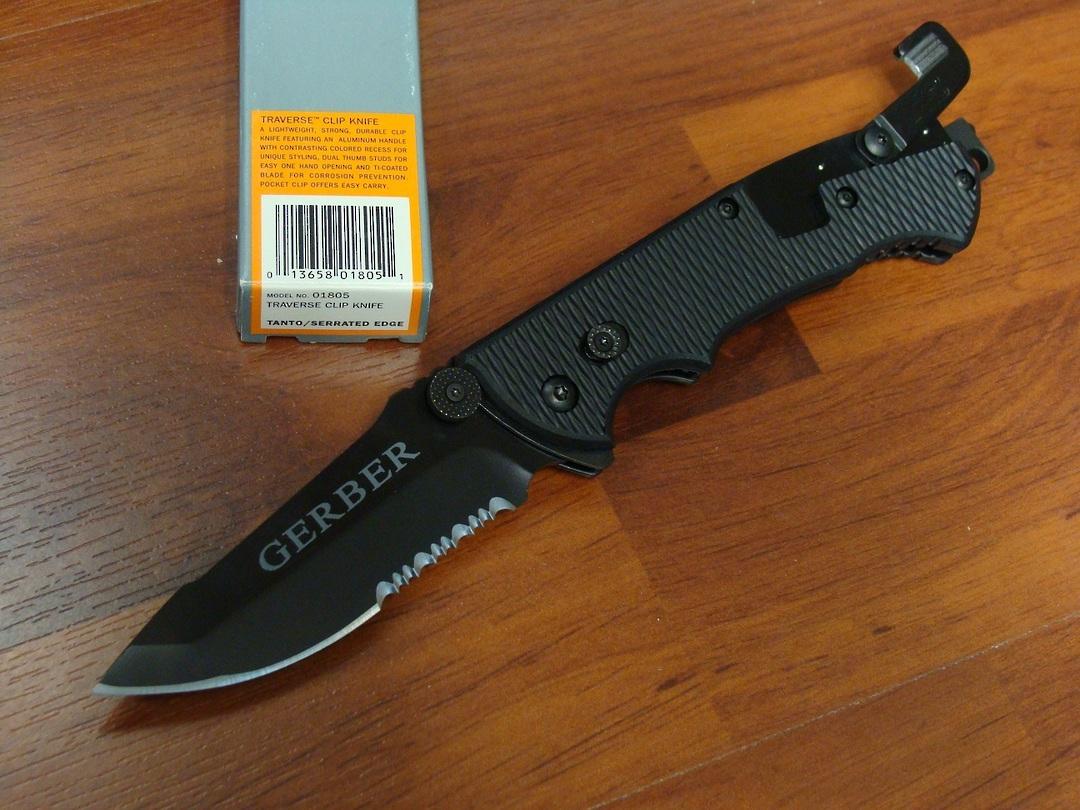 Gerber Hinderer CLS black Knife image 0