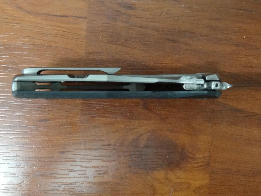 LionSteel TRE Three Rapid Exchange Folder M390 Blade, Carbon Fiber/Titanium Handles - TRE FC image 2