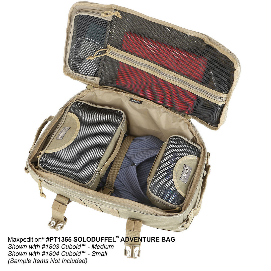 Maxpedition Soloduffe™ Adventure Bag - Khaki PT1355K image 13