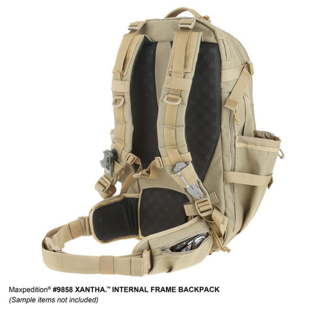 Maxpedition XANTHA INTERNAL FRAME BACKPACK (Large) - Khaki image 10