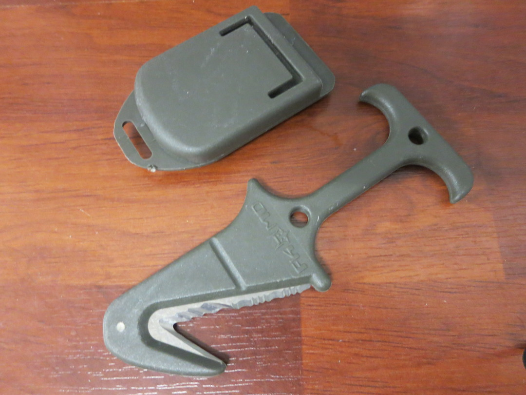 Fox Knives USA Rescue Emergency Tool OD green image 0
