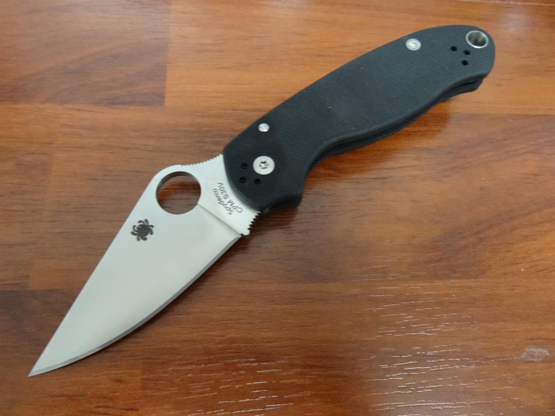 Spyderco Para 3 Folding Knife S30V (Paramilitary 3) image 0