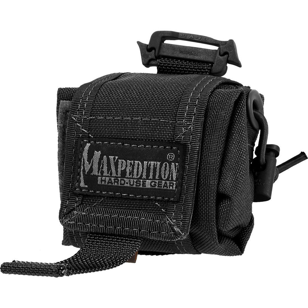 Maxpedition MINI ROLLYPOLY FOLDING DUMP POUCH - Black image 0