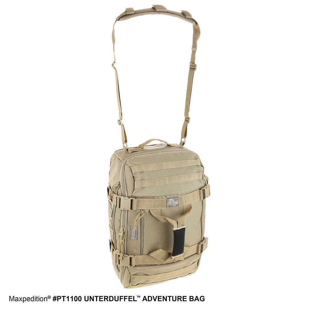 Maxpedition Unterduffel Adventure Bag - Khaki image 5