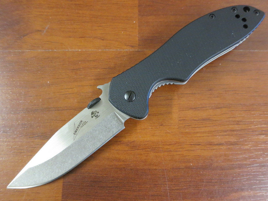 Kershaw Emerson CQC-6K Folding Knife D2 Blade, G10 and Stainless Steel Handles image 0