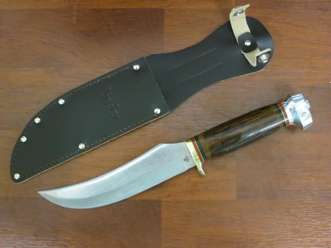 Linder Classic Solingen Skinner with carbon steel blade 185315 image 0