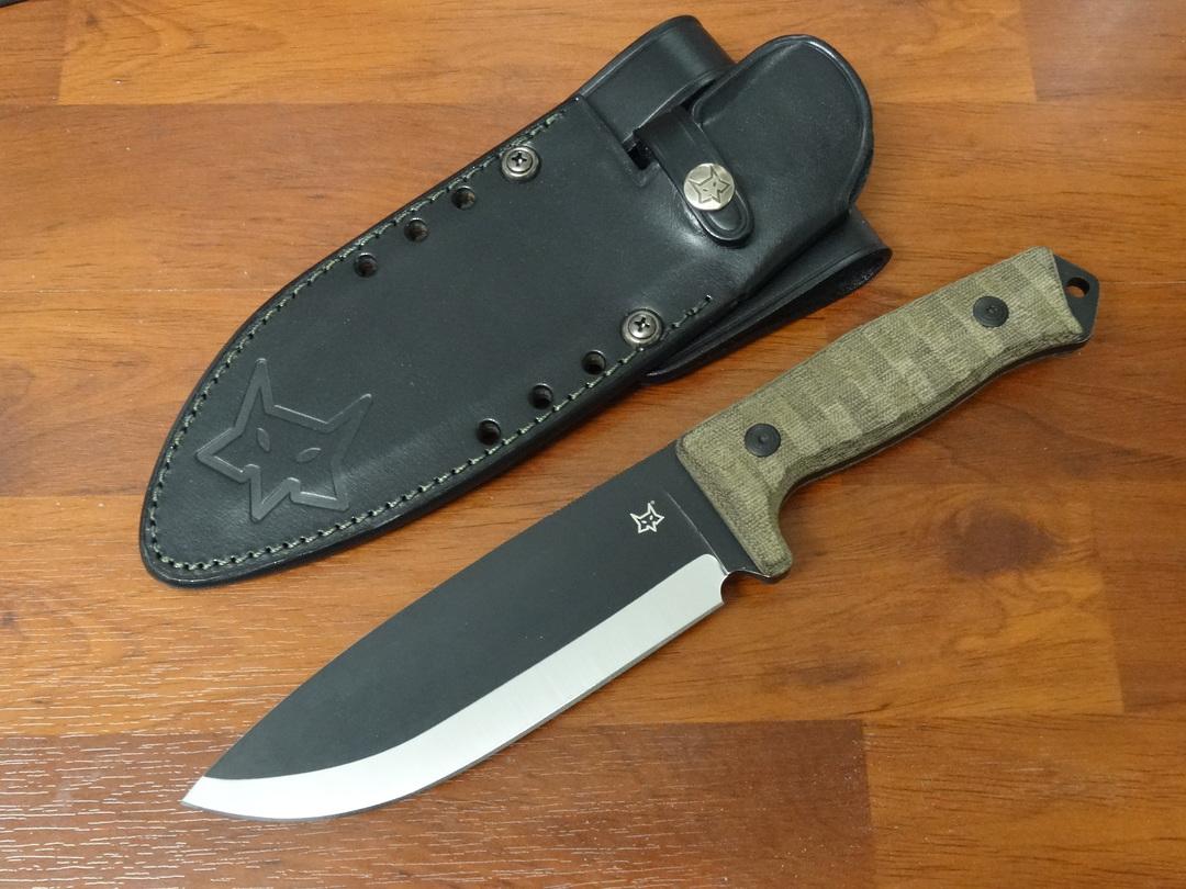 Fox Knives Bushman knife FX609OD image 0