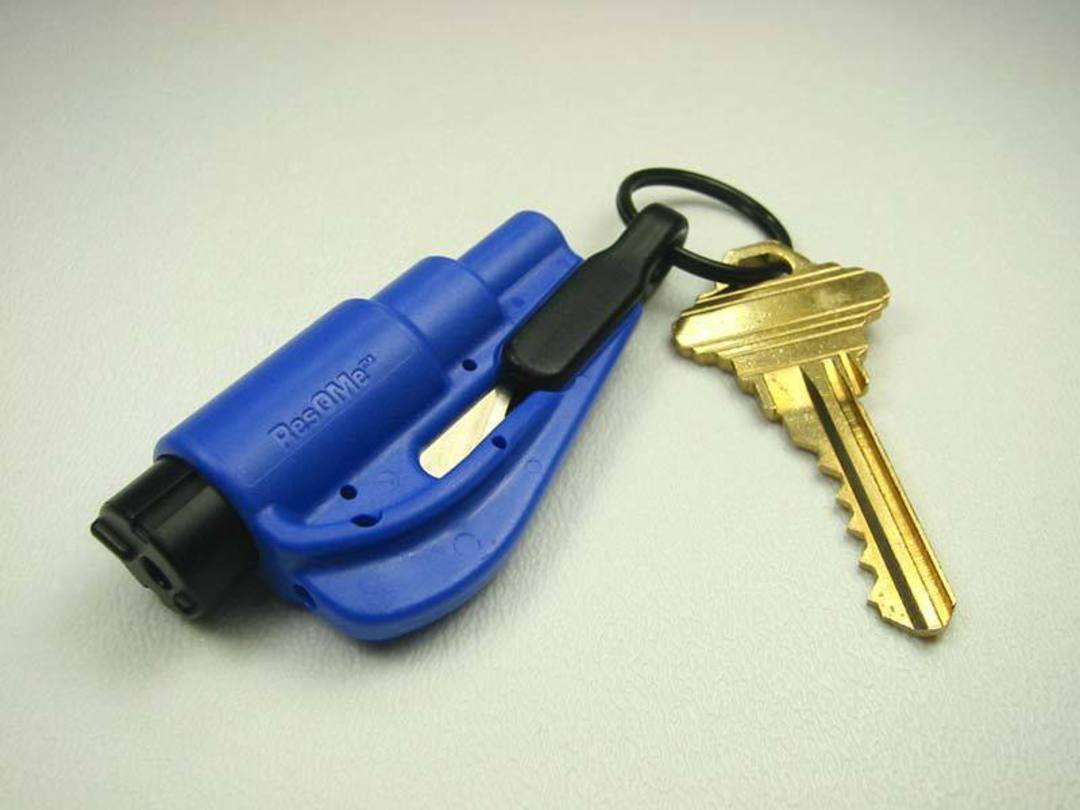 ResQMe Keychain Rescue Emergency Tool-  Blue image 1