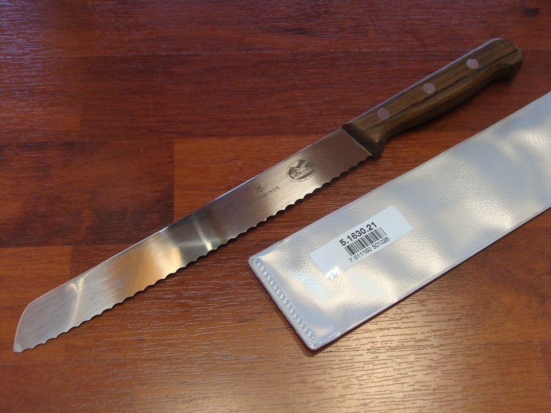 Victorinox Bread Knife 21cm Rose Rosewood image 0