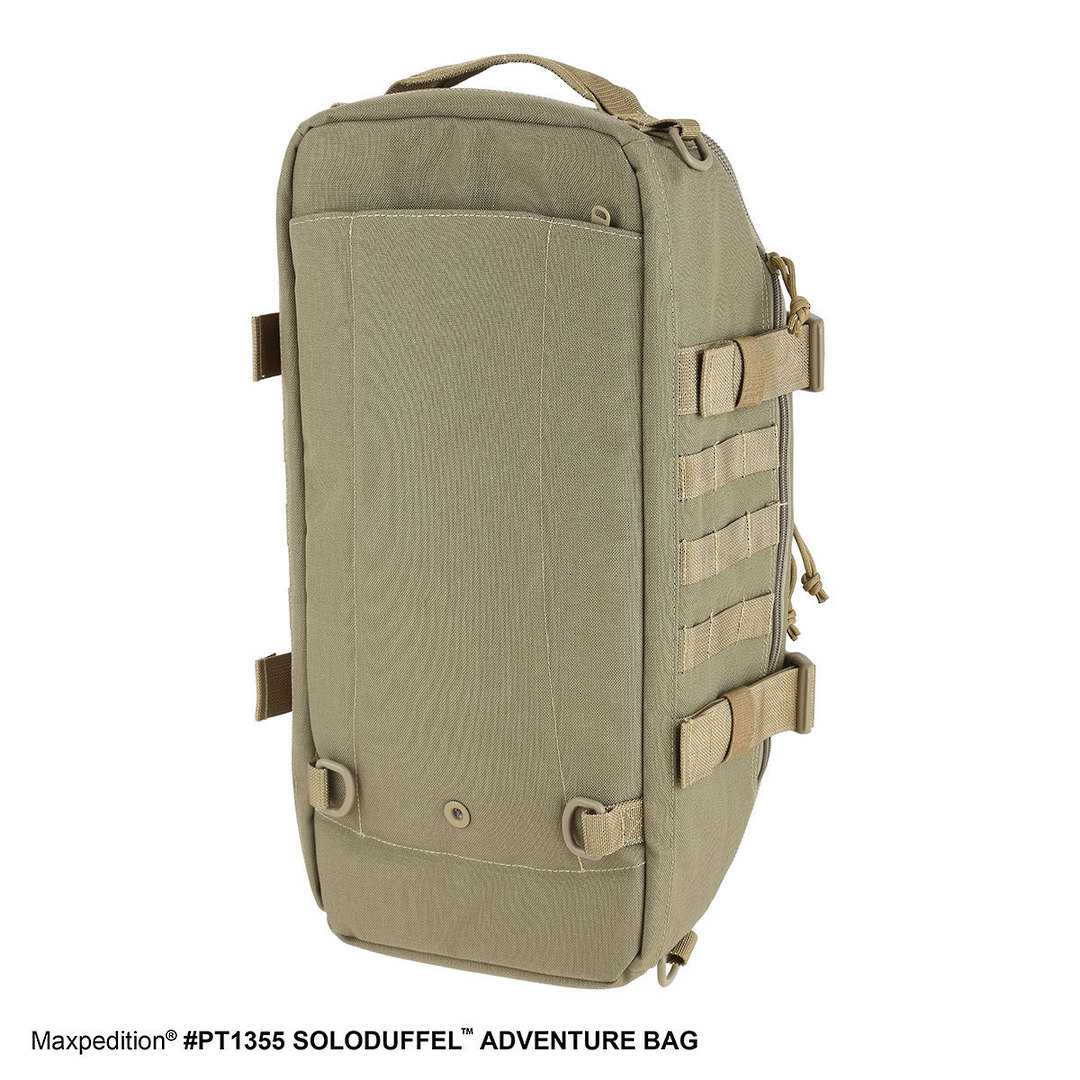 Maxpedition Soloduffe™ Adventure Bag - Khaki PT1355K image 2