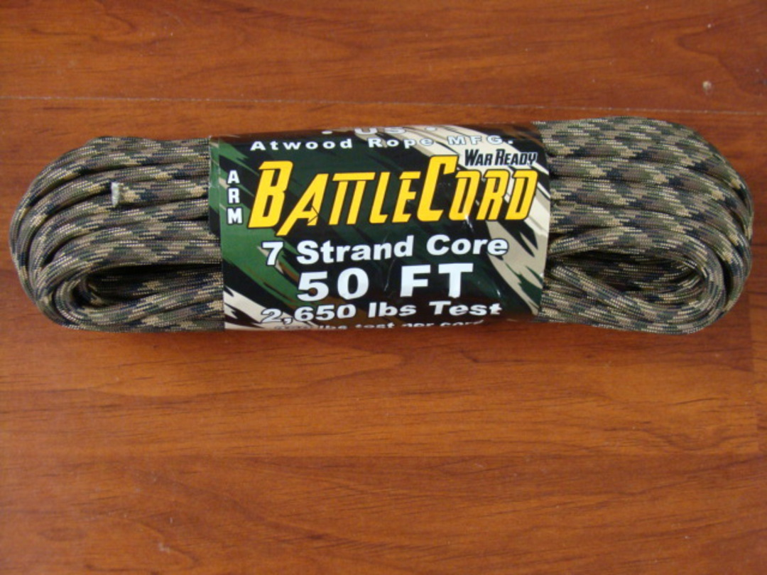 ARM BattleCord/ Battle cord 2,650 lbs Tested - Ground War image 0