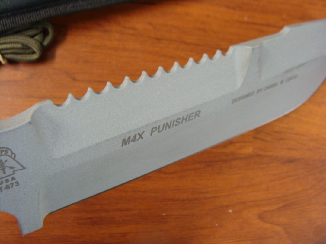 TOPS M4X Punisher Combination Knife M4X-01 image 1