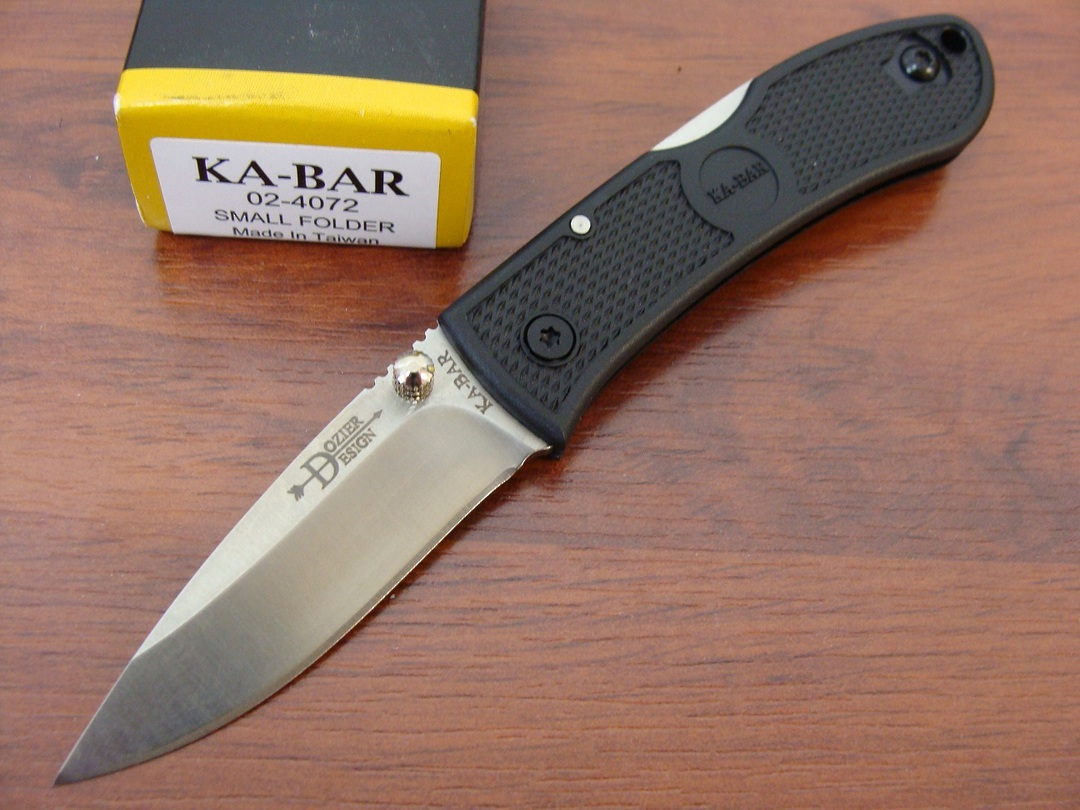 Ka-Bar Dozier Small folding Knife image 0