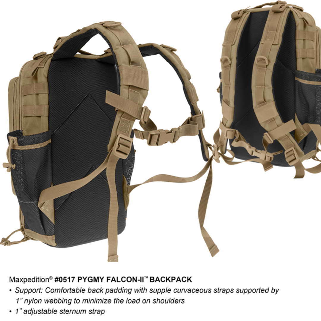 Maxpedition Pgymy Falcon II Backpack - Black image 5