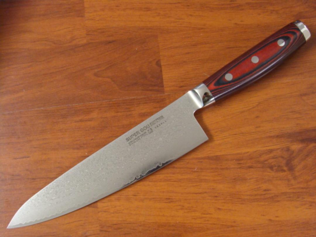 Super GOU Japanese Damascus Chef's Knife 200mm image 0