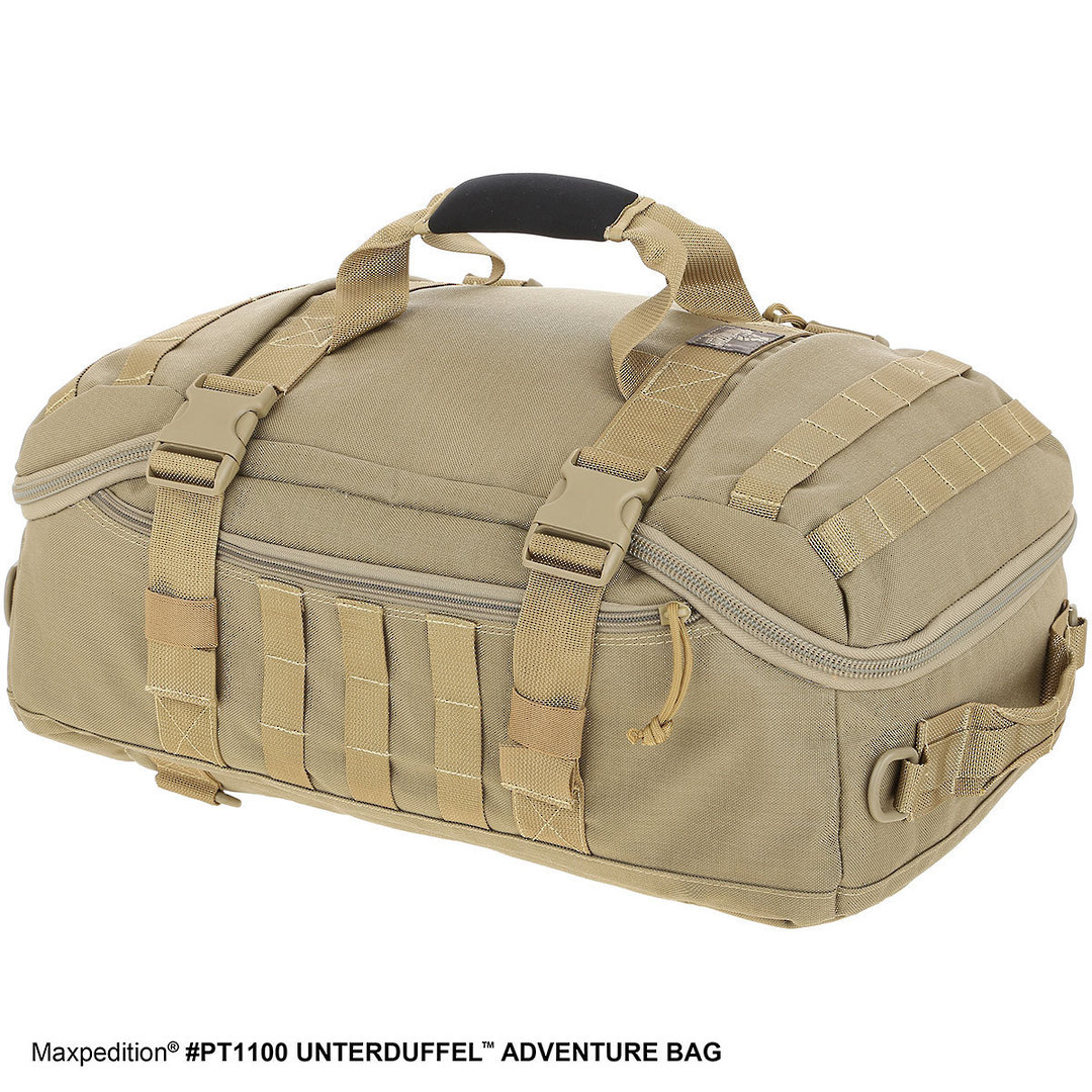 Maxpedition Unterduffel Adventure Bag - Khaki image 2