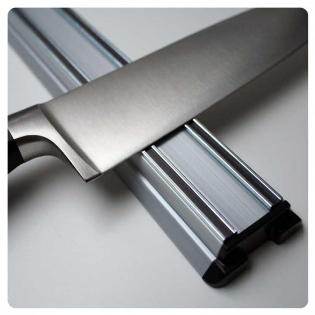 Bisbell Bisigrip Silver Magnetic Knife Rack 45cm image 0