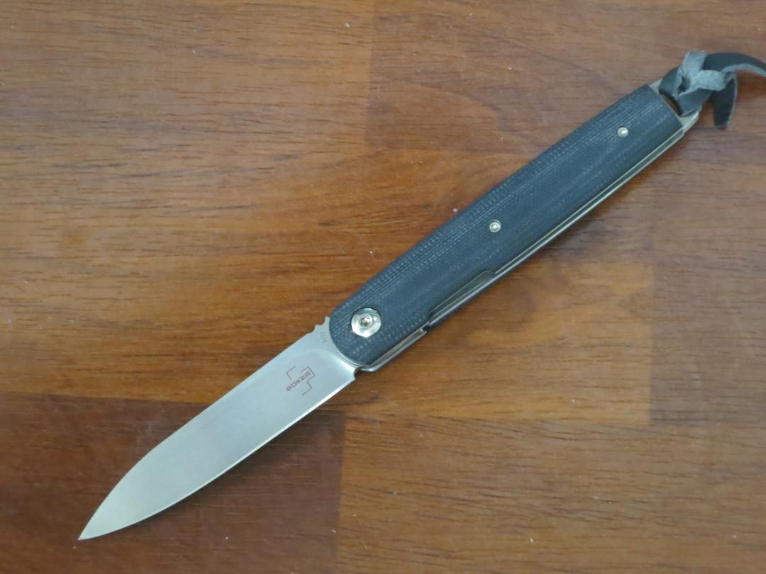 Boker Plus Kansei Matsuno LRF Front Flipper Knife, G10 Handles - 01BO078 image 0