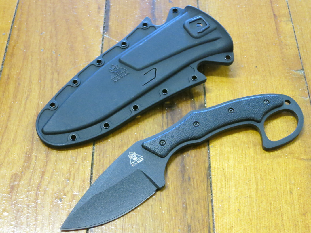 KA-BAR TDI Pocket Strike Fixed Blade Knife image 0