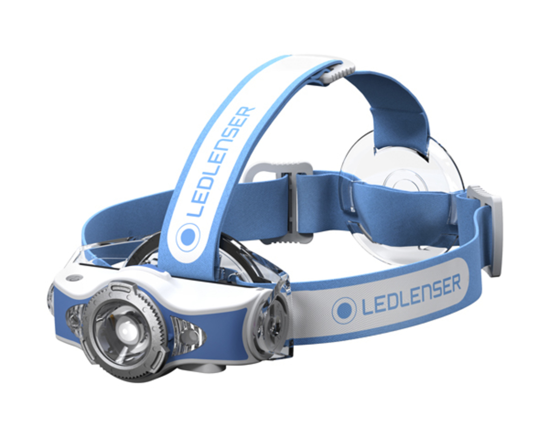 Led Lenser Rechargeable MH11 Headlamp 1000 lumens - Blue image 2