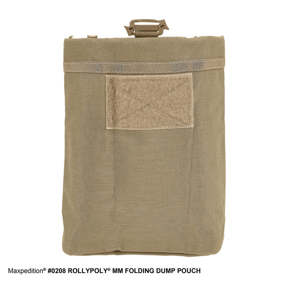Maxpedition Rollypoly® MM Folding Dump Pouch - Khaki image 3