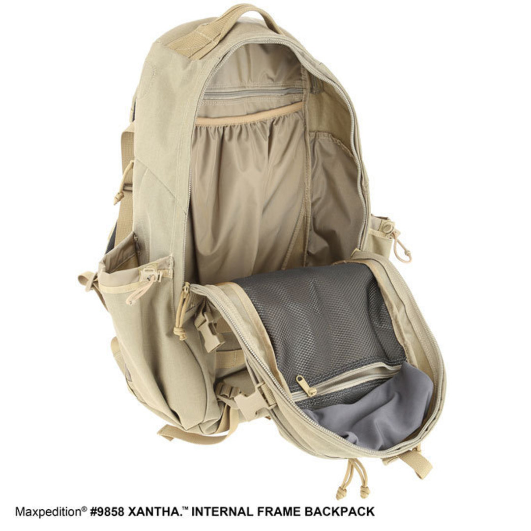 Maxpedition XANTHA INTERNAL FRAME BACKPACK (Large) - Khaki image 8