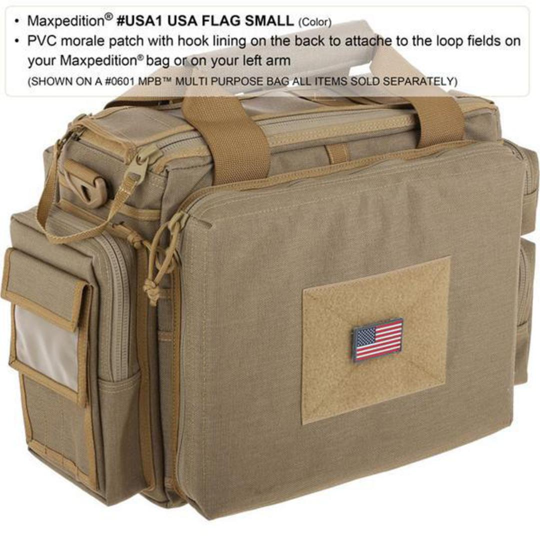 MAXPEDITION USA Flag Morale Patch (Small) image 1