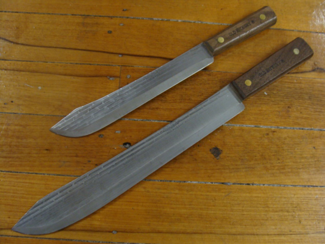 """Ontario Old Hickory Butcher 14"""" Knife image 1"""