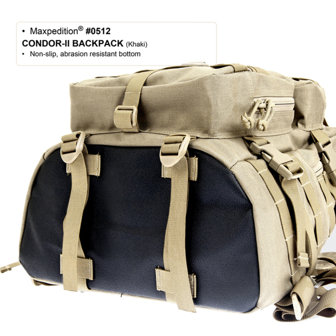 Maxpedition Condor II Backpack - Black image 3