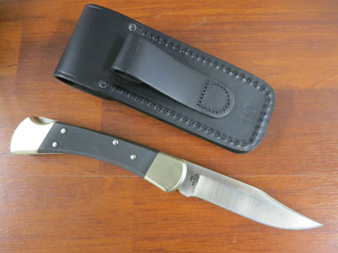 Buck 110 Pro Folding Hunter Knife S30V -110BKSNS1 image 1