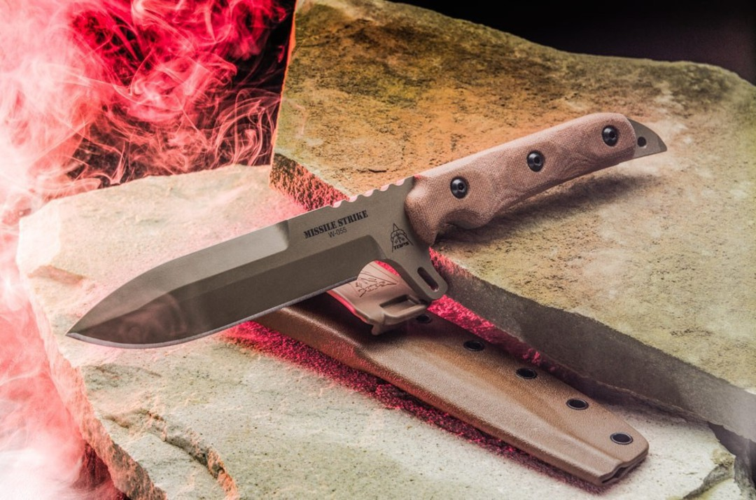 TOPS Knives Missile Strike Coyote Tan image 0