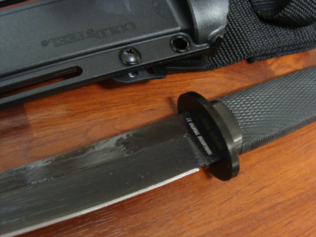 Cold Steel Magnum Tanto IX Fixed 3V Blade image 1