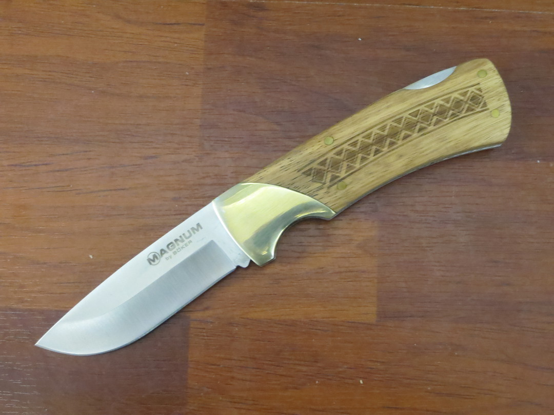 Boker Magnum Woodcraft Folding Knife 01MB506 image 0