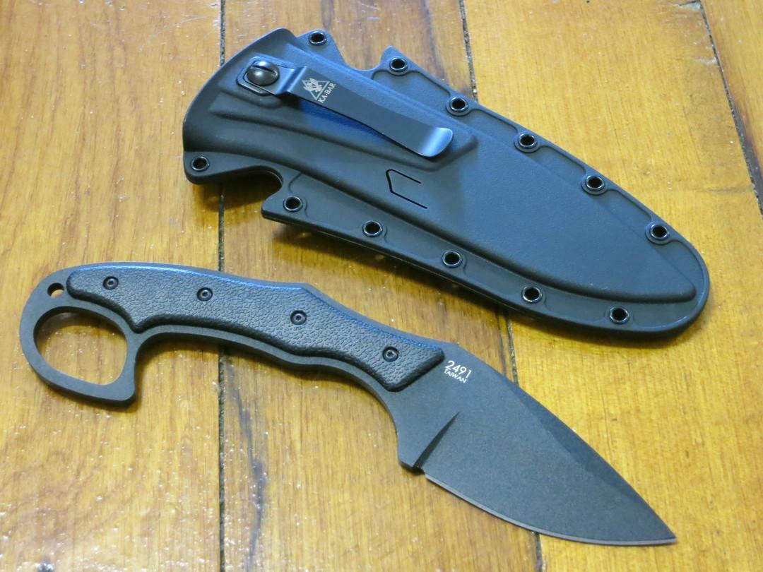 KA-BAR TDI Pocket Strike Fixed Blade Knife image 1