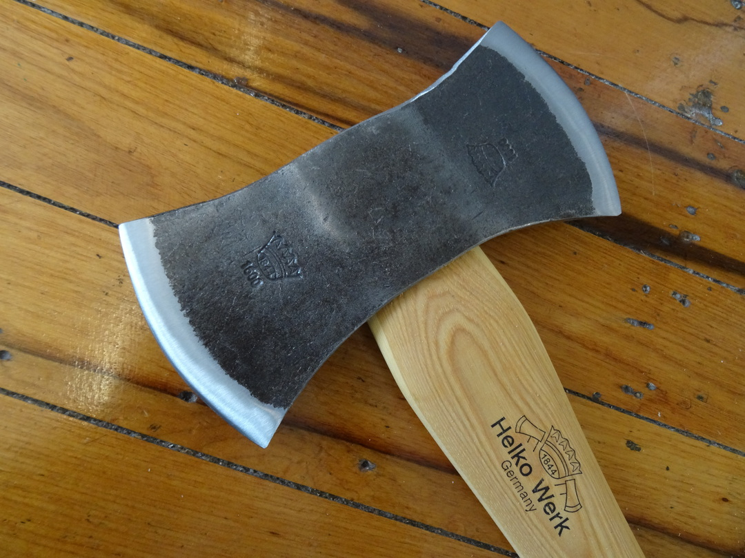 HELKO Traditional Line American Double Bit Felling axe With Sheath 13575 image 1