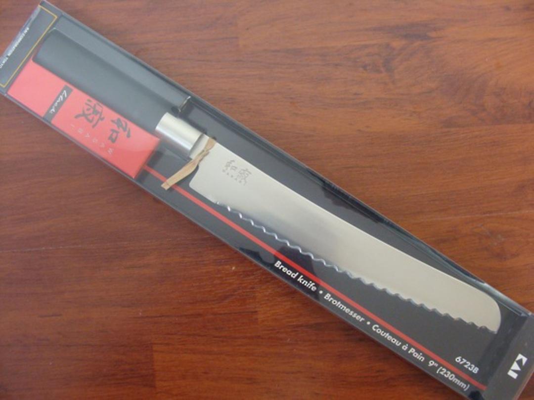 "Kershaw Wasabi Japanese Bread Knife 23cm / 9"" image 0"
