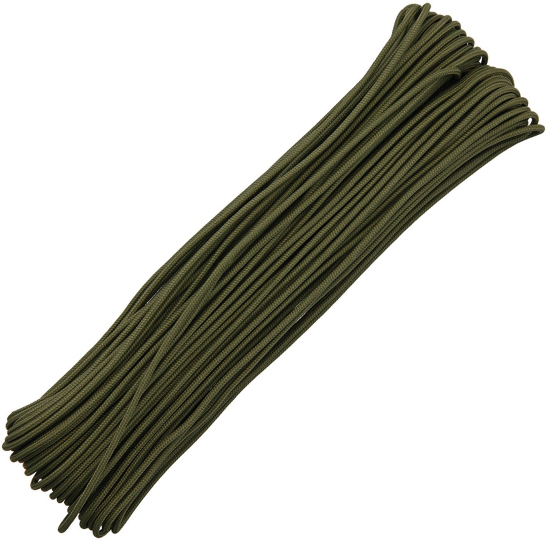 100ft Tactical Paracord OD green image 0