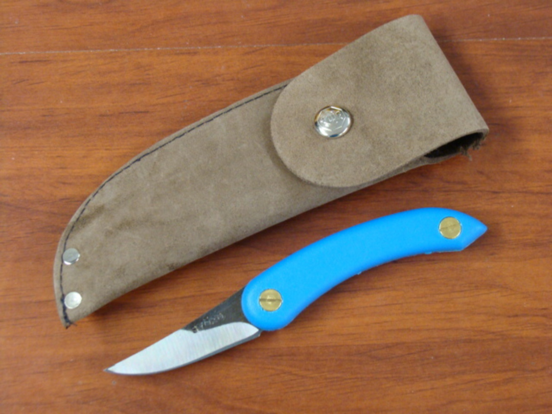 SVORD CHIP THWITEL WHITTLER FIXED BLADE KNIFE - BLUE image 0