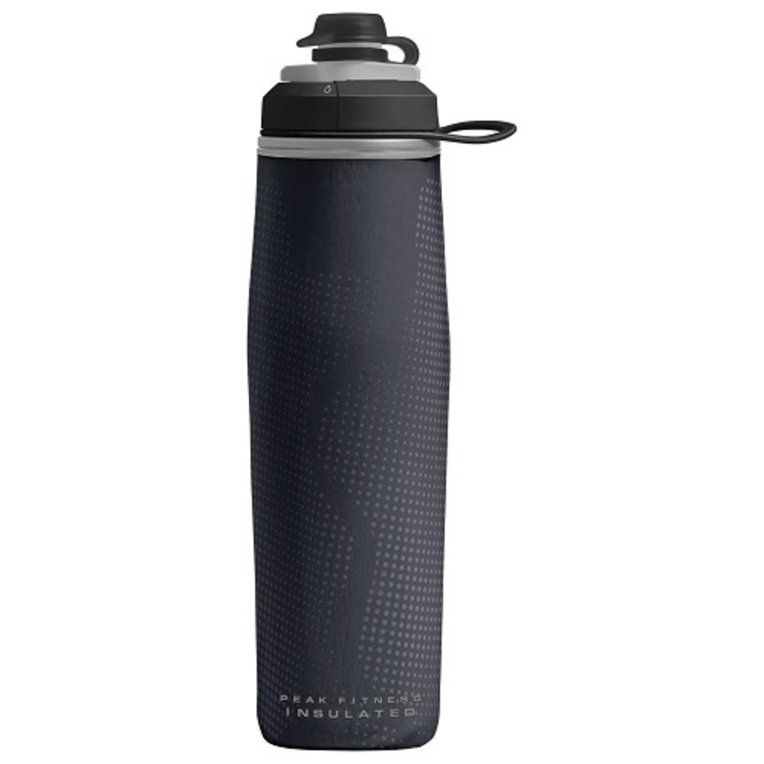 Camelbak Peak Fitness Chill 24 oz Bottle, Insulated Black Silver image 0
