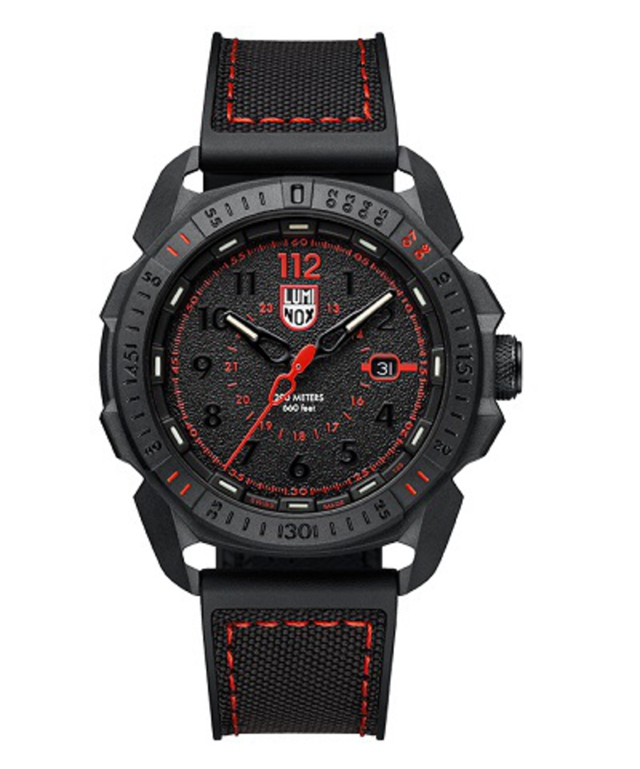 Luminox ICE-SAR ARTIC 1000 Series Black/Red Watch - 1002 image 0