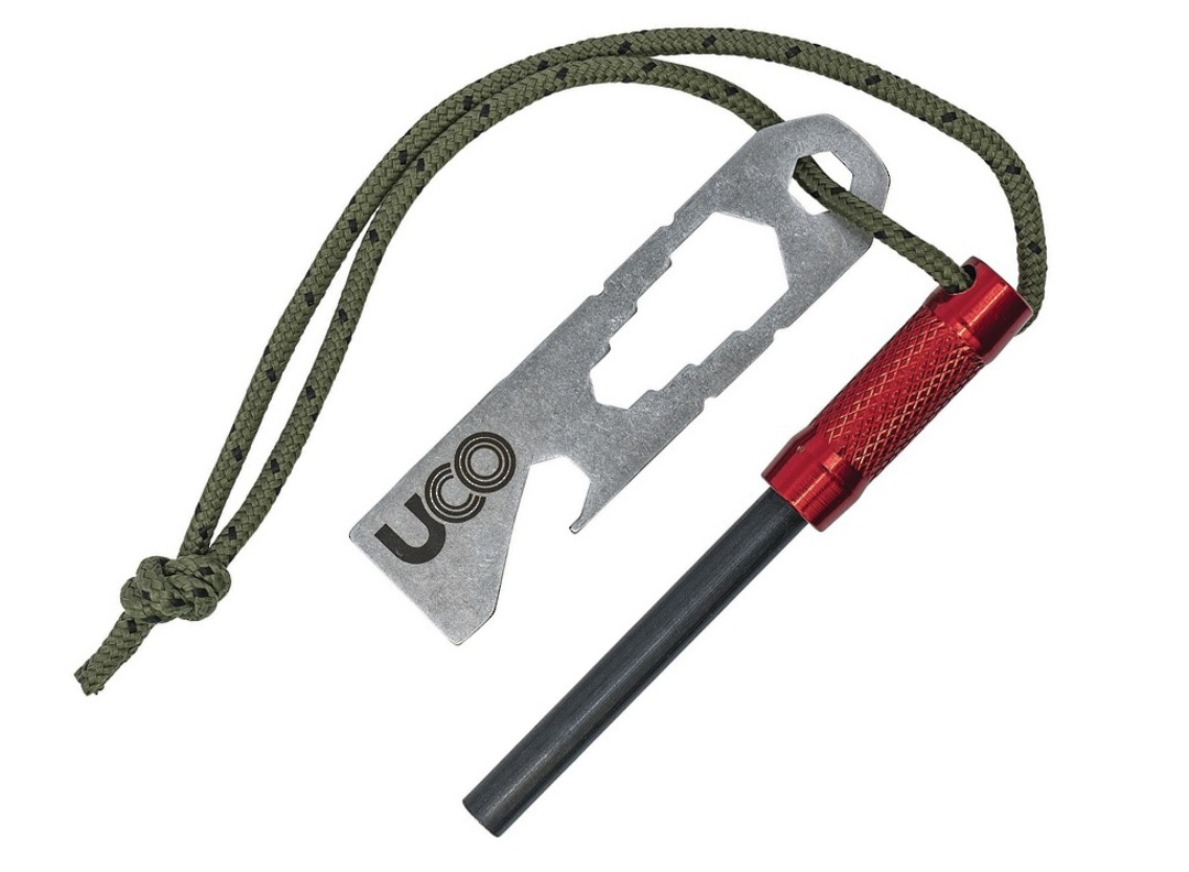 UCO Survival Fire Striker Red image 0