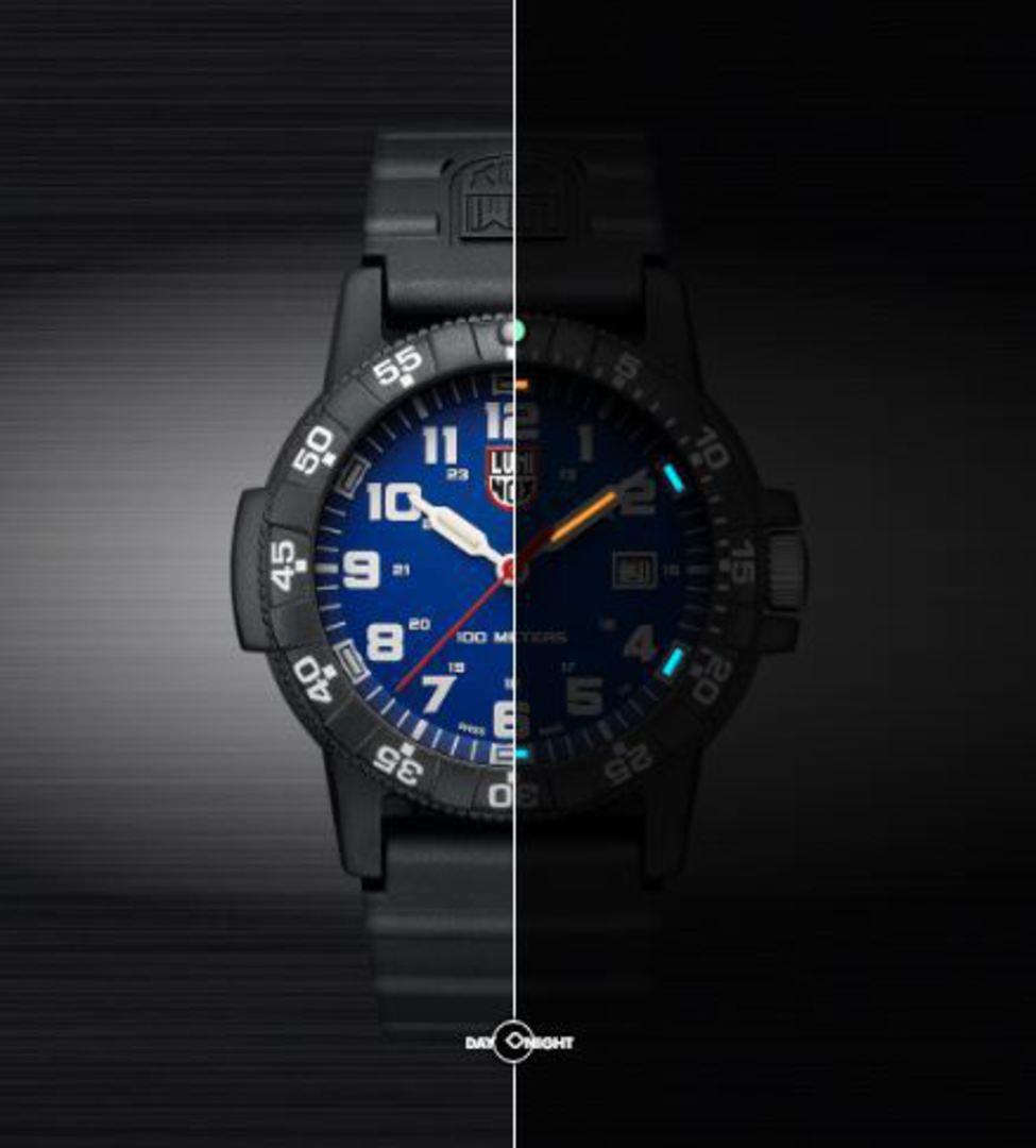 Luminox Sea Turtle Giant Watch Blk Case Blue Dial - 0323 image 1