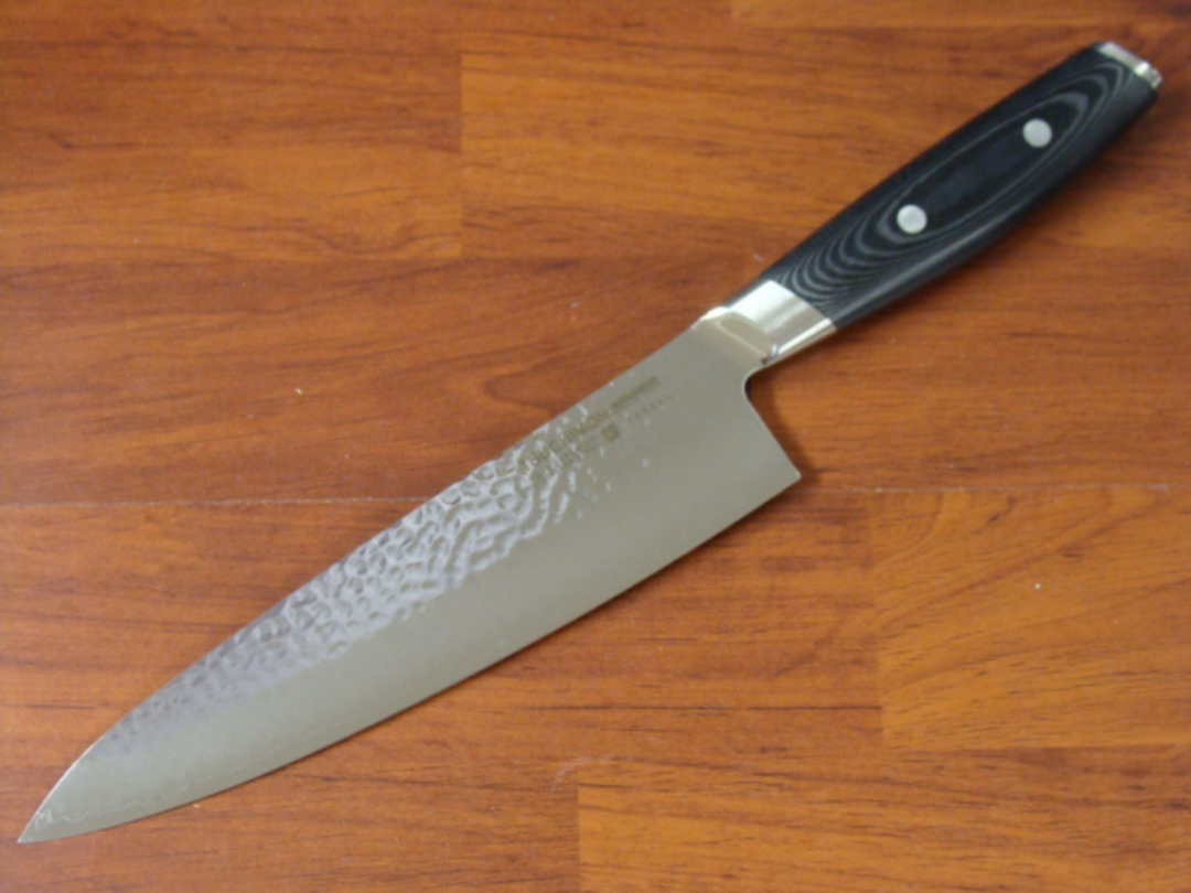 YAXELL TSUCHIMON JAPANESE DAMASCUS 7 PCE KNIFE BLOCK SET image 1