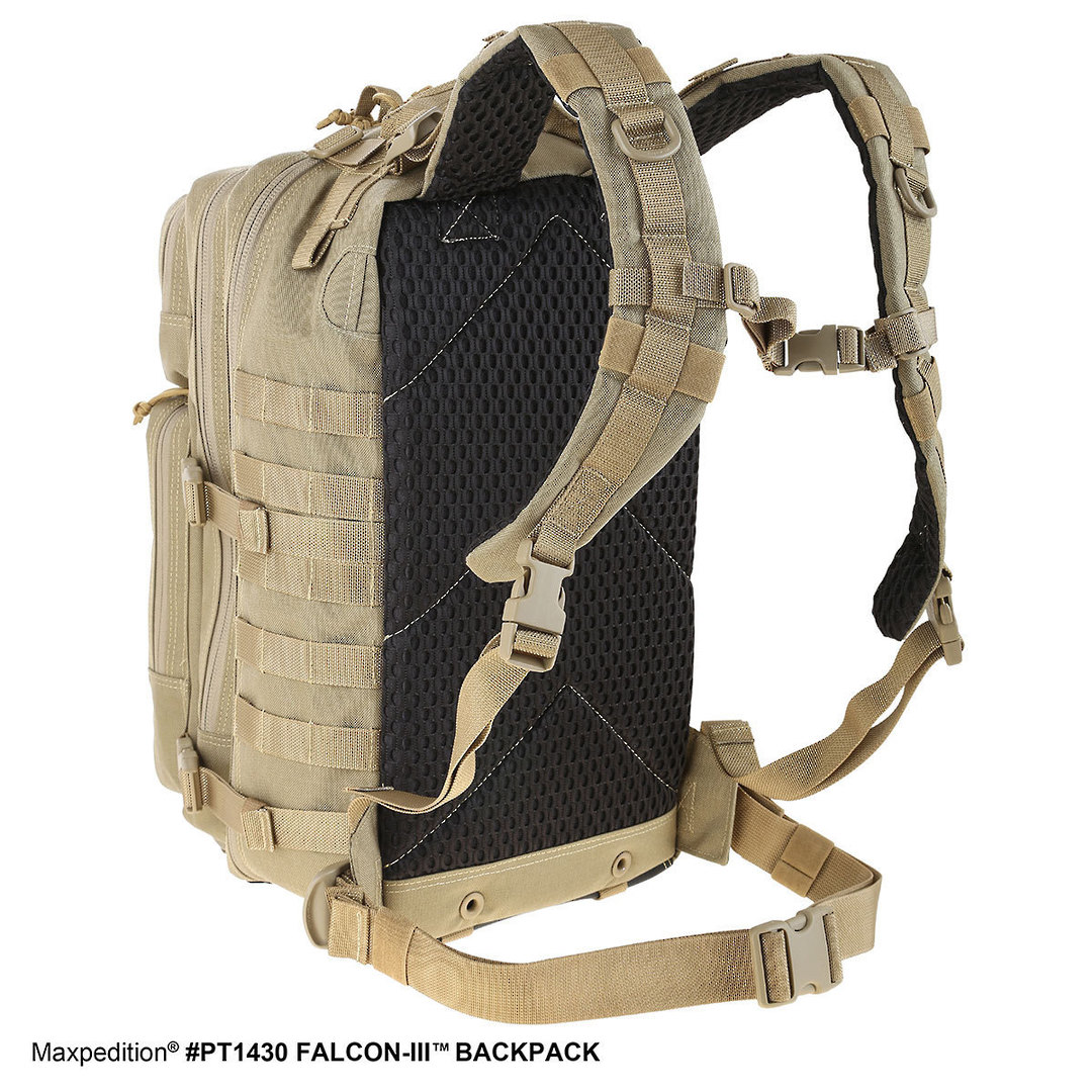 Maxpedition Falcon III Backpack - Black image 3