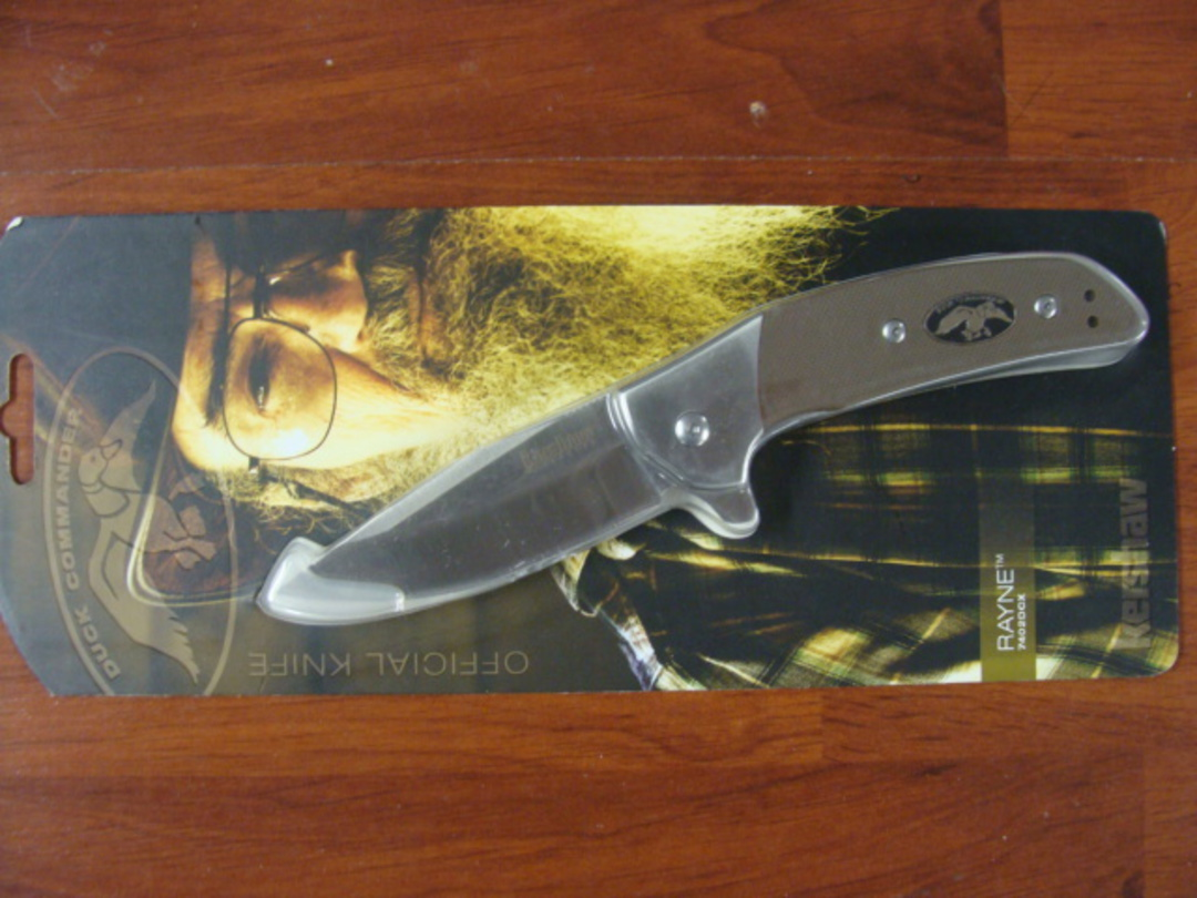 Kershaw  Duck Commander Rayne A/O Folding Knife image 1