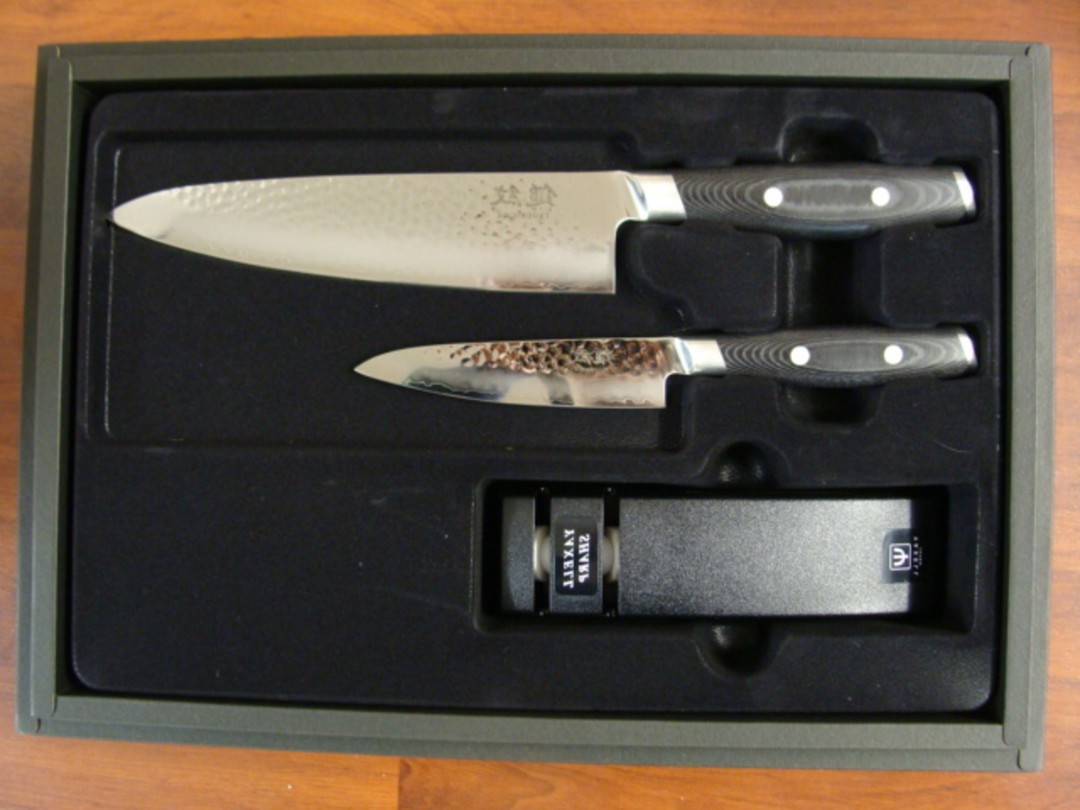 Tsuchimon Damascus VG-10 3 Pce Set - 3 Layers image 0