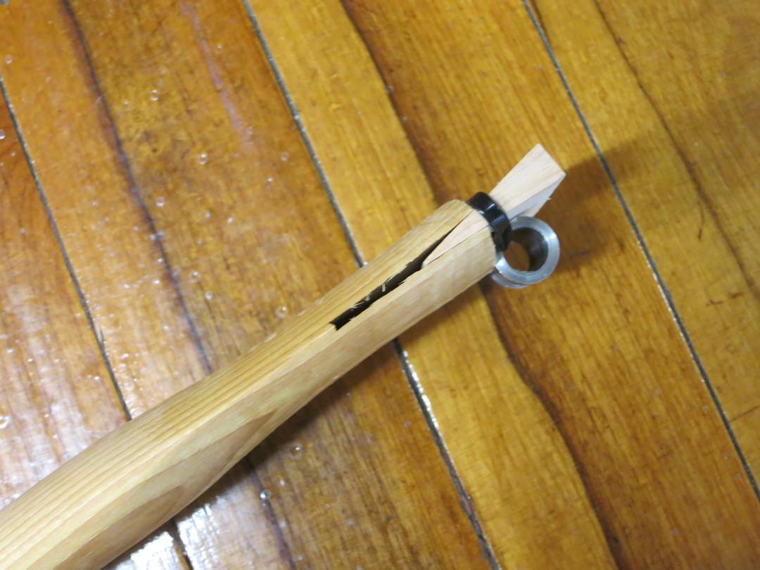 HELKO Traditional Line American Double Bit Felling axe Handle image 2