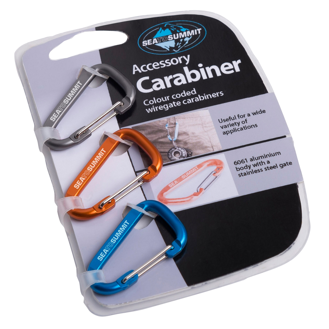 Sea to Summit Accessory Carabiner 3 Pack image 0
