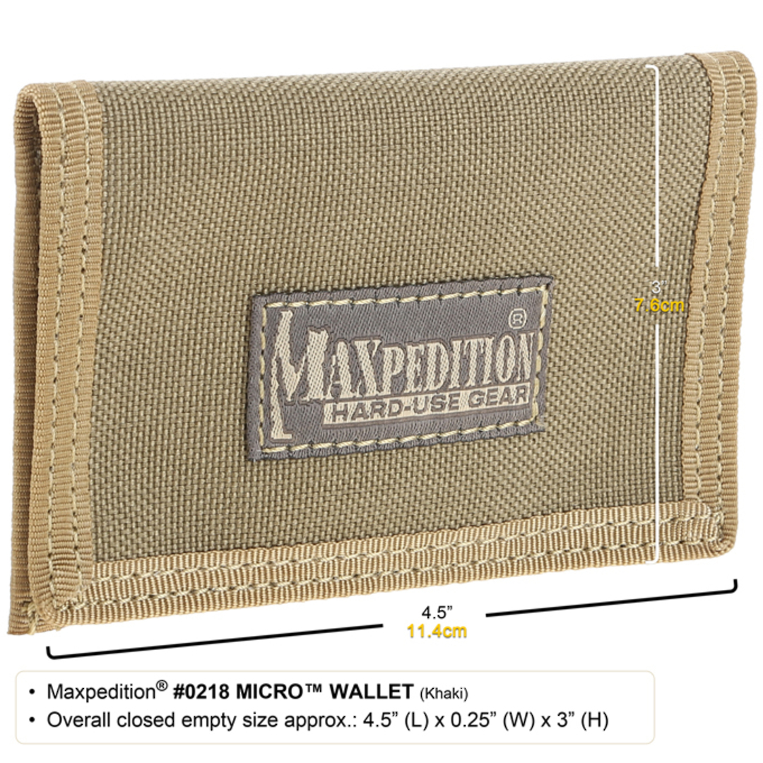 Maxpedition Micro Wallet Foliage Green image 1