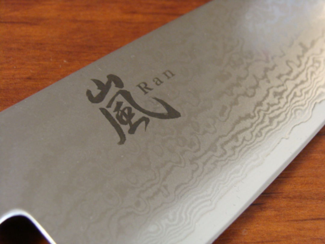 RAN Japanese DAMASCUS 3PCS KNIFE SET image 4
